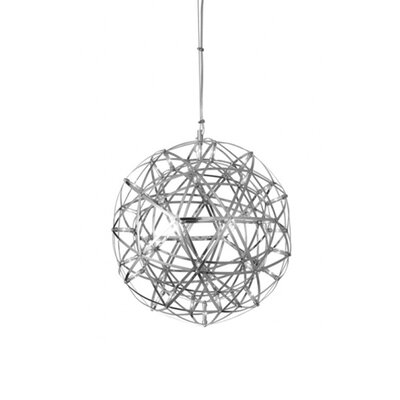 42-Light LED Globe Pendant Size: 17.5 H x 17.5 W x 17.5 D