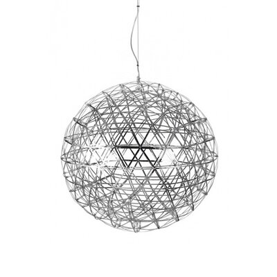 252-Light LED Globe Pendant Size: 47