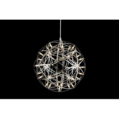 252-Light LED Globe Pendant