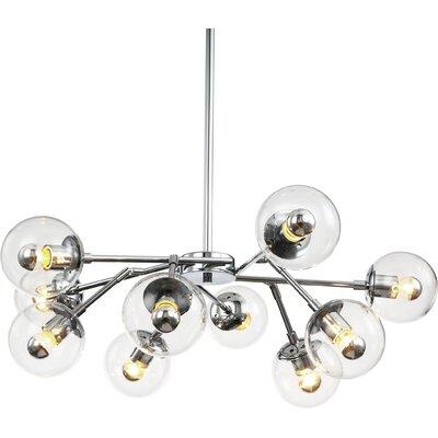 10-Light Sputnik Chandelier