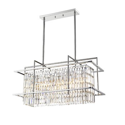 Baylis Cage 5-Light Kitchen Island Pendant