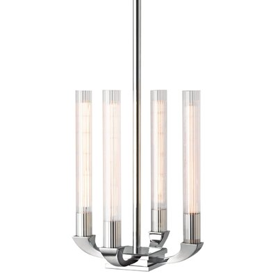 Kelling 4-Light Geometric Pendant