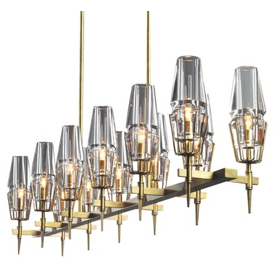 Kelloggs 12-Light Kitchen Island Pendant