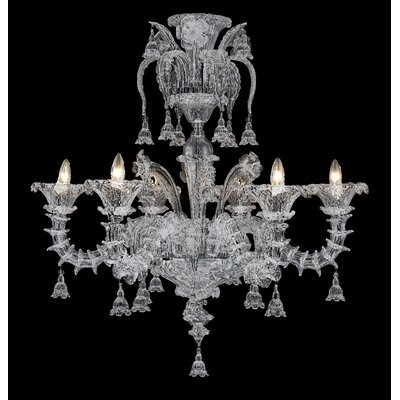 Alexander 6-Light Crystal Chandelier