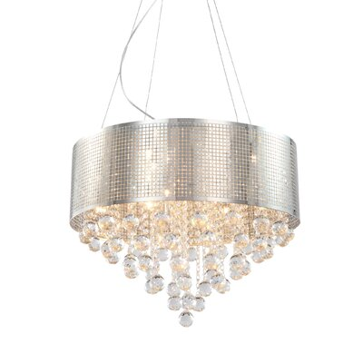 Brucedale Frame 5-Light Drum Chandelier Size: 81 H x 24 W x 24 D
