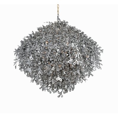 32-Light Crystal Chandelier