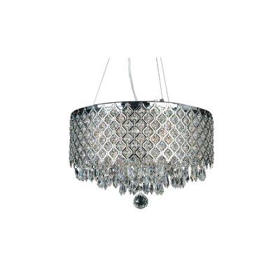 LX Series 6-Light Crystal Pendant