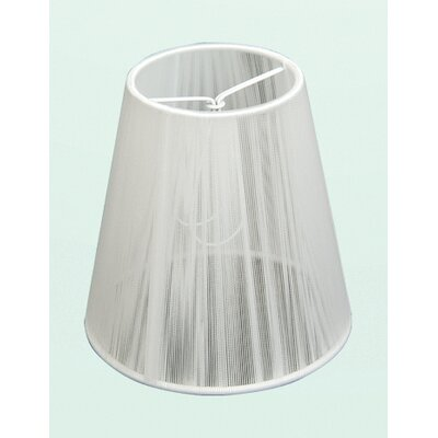 ET Series 5 Silk String Lamp Shade Color: White