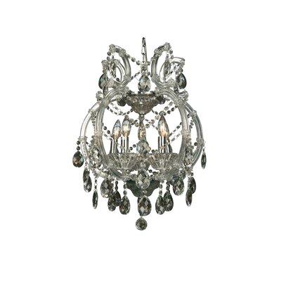 5-Light Crystal Chandelier Crystal Color: Clear