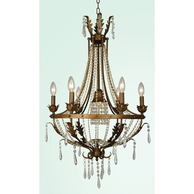 ET Series 7-Light Candle-Style Chandelier