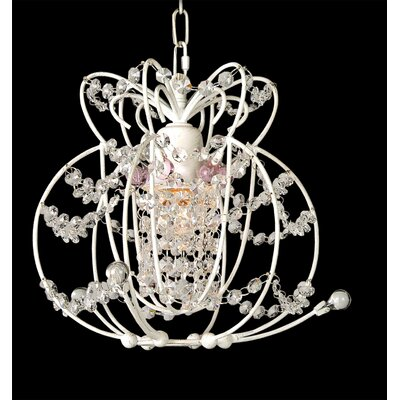 ET Series 1-Light Crystal Pendant