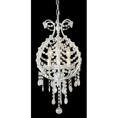 ET Series 3-Light Mini Chandelier