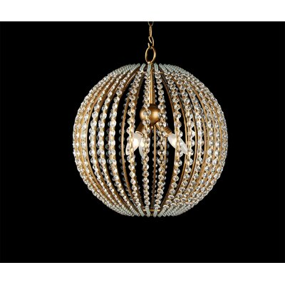 YS Series 3-Light Globe Pendant