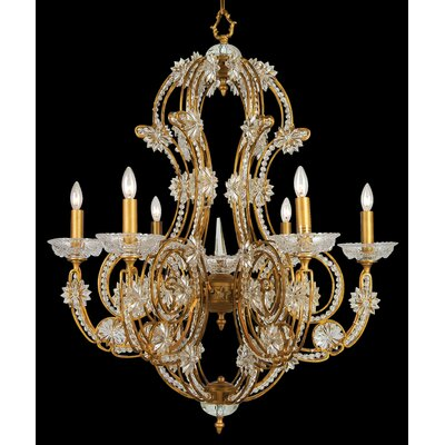 SU Series 6-Light Candle-Style Chandelier