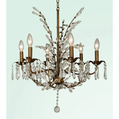 ET Series 6-Light Candle-Style Chandelier