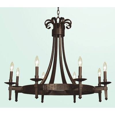 FR Series 8-Light Candle-Style Chandelier