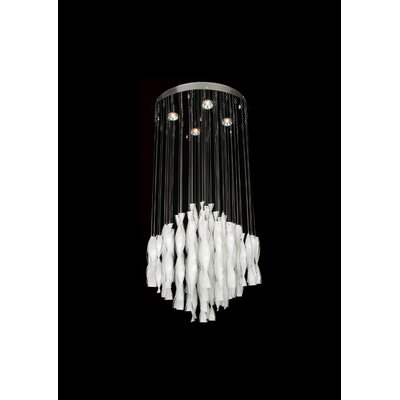 LX Series 4-Light Crystal Chandelier