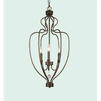 YS Series 3-Light Mini Chandelier