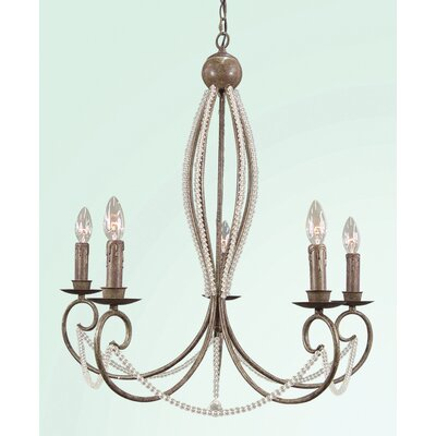 RT Series 5-Light Candle-Style Chandelier