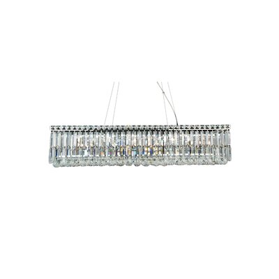 LX Series 12-Light Crystal Pendant
