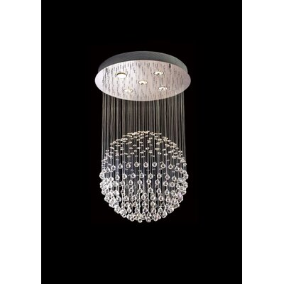 ZY Series 5-Light Crystal Chandelier