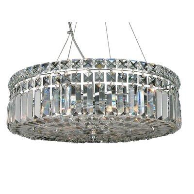 LX Series 8-Light Crystal Pendant