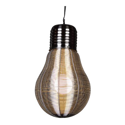 MN Series 1-Light Mini Pendant Size: 19.7 H x 11.4 W x 12 D