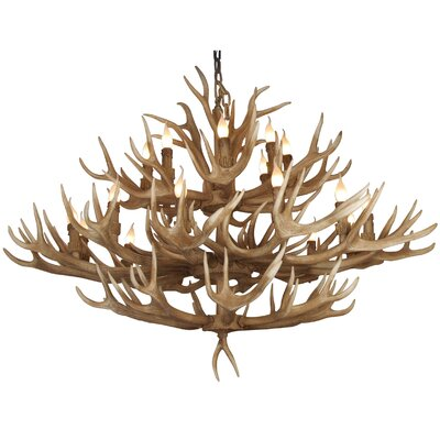 IL Series 28-Light Candle-Style Chandelier