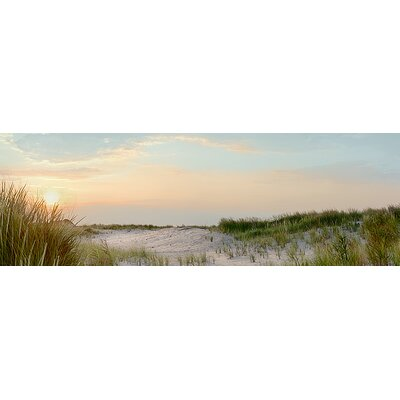 'Island Sand Dunes Sunrise No. 1' by Alan Blaustein Photographic Print on Canvas 665803