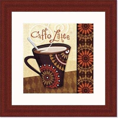 'Cup of Joe IV' by Veronique Charron Framed Vintage Advertisement 488480S61:MAH,CW,WTW
