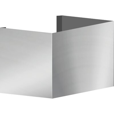 """Euroline Series Wall Mount Duct Cover Size: 10"""" H x 10"""" W x 10"""" D WDC1010SS"""