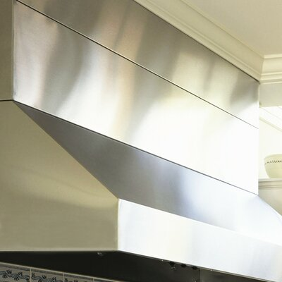 "Vent-A-Hood Wall Mount Hood Duct Cover - Size: 36"", Ceiling Height: 9' at Sears.com"