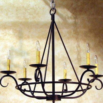 Estrella 6-Light Candle-Style Chandelier