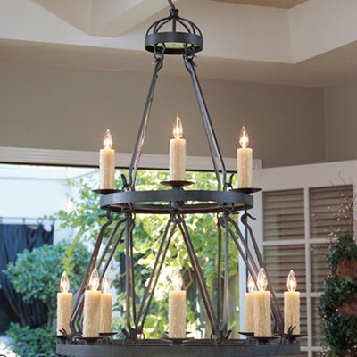 Lakeshore 12-Light Candle-Style Chandelier