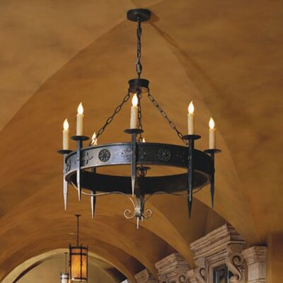 Calandra 8-Light Candle-Style Chandelier