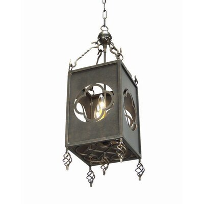 Paola 3-Light Foyer Lantern Finish: Golden Verde