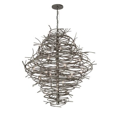 Cyclone 36-Light Candle-Style Chandelier