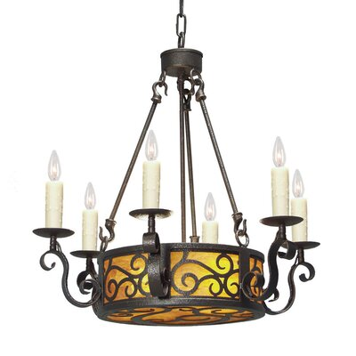 Delano 8-Light Candle-Style Chandelier