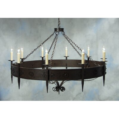 Calandra 10-Light Candle-Style Chandelier