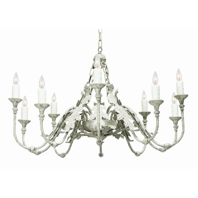 Arbor 10-Light Candle-Style Chandelier