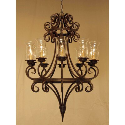 Symen 10-Light Candle-Style Chandelier