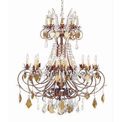 Minuet 16-Light Crystal Chandelier