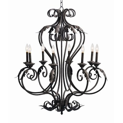 Josephine 8-Light Candle-Style Chandelier