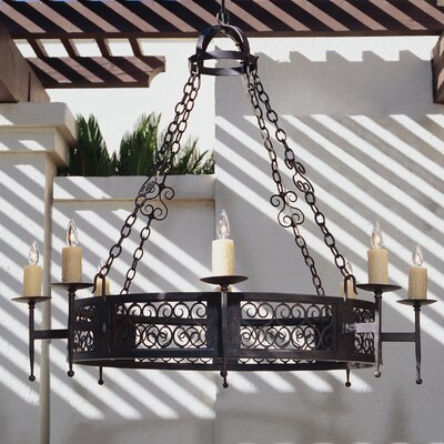 Toscano 8-Light Candle-Style Chandelier