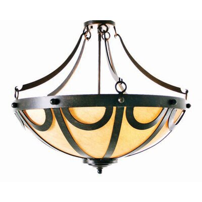 Carousel 3-Light Inverted Pendant