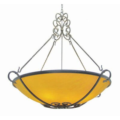 Alaine 8-Light Bowl Inverted Pendant
