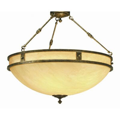 Capella 6-Light Inverted Pendant Finish: Gilded Tobacco