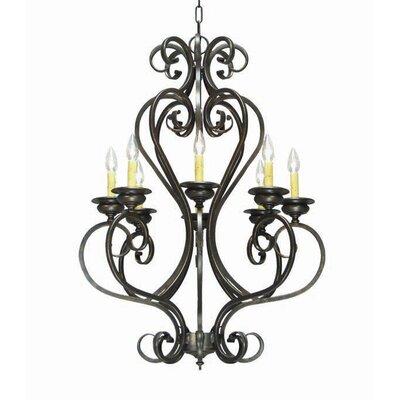 Fernando 8-Light Candle-Style Chandelier