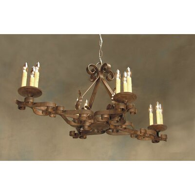 Elianna 12-Light Candle-Style Chandelier