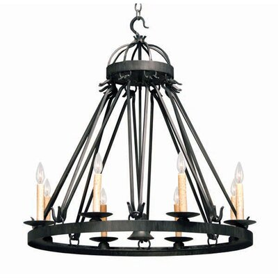 Lakeshore 9-Light Candle-Style Chandelier